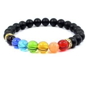 Jewelry - PREVIEW Crystal Chakra Mala Prayer Stone Bracelet